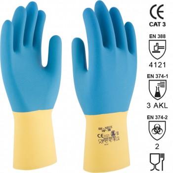 Guantes de policloropreno (neopreno) sobre látex mod. bi-neox (hp-300)