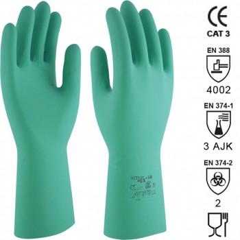 Guantes de látex de nitrilo mod. nitril 330 (rnf-15)