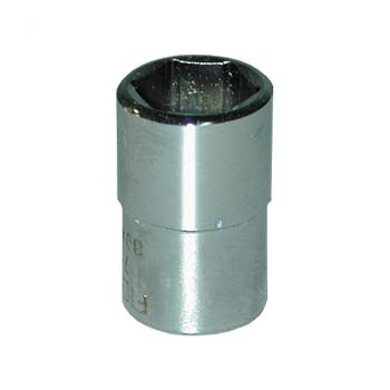 Llave de vaso hexagonal con cuadrado de 1