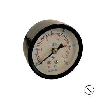 Manómetro con conexión axial mod. jm