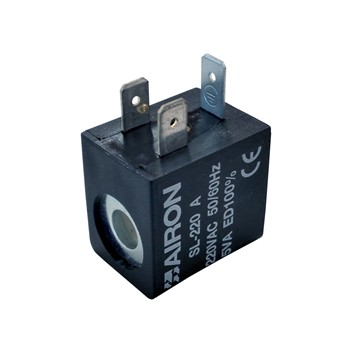 Bobina con terminal tipo amp 6,3x0,8 mod. sl