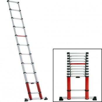 Escalera telescópica de 11 peldaños ref. tl smart up easy