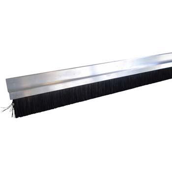 Perfil de aluminio con cepillo