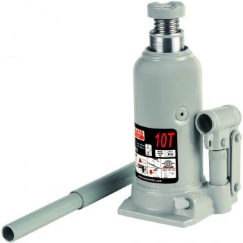 Gato hidráulico de botella con base soldada ref. bh4