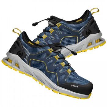 Zapato de seguridad con cierre quicklace mod. b1006b k-walk s1p hro src