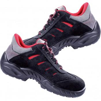 Zapatos de seguridad con cordones smart mod. b0168b toledo s1p src