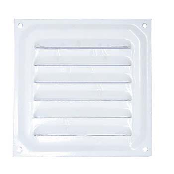 Rejilla de ventilación cuadrada para atornillar (10x10 cm)