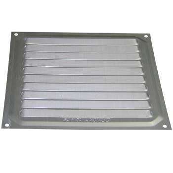 Rejilla de ventilación cuadrada para atornillar (15x15 cm)