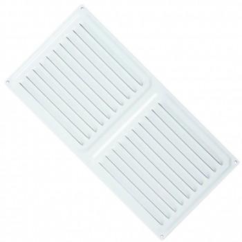 Rejilla de ventilación rectangular para atornillar (15x30 cm)