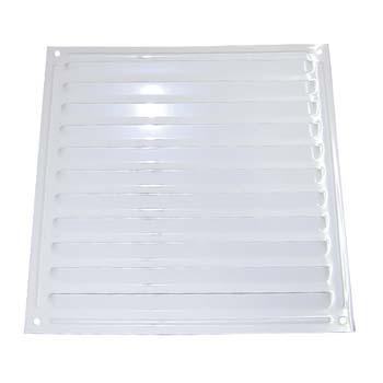 Rejilla de ventilación cuadrada para atornillar (17x17 cm)