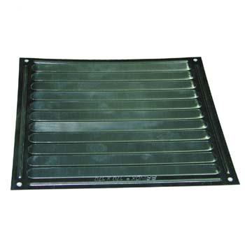 Rejilla de ventilación cuadrada adhesiva o con tornillos (17x17 cm)