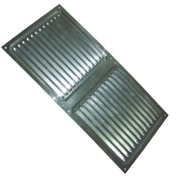 Rejilla de ventilación rectangular para atornillar (20x40 cm)