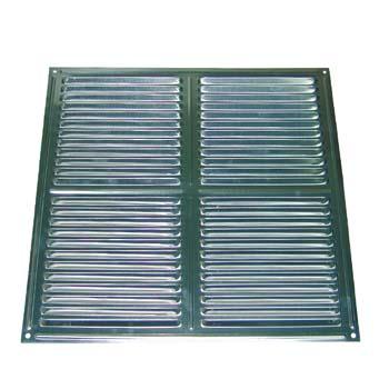 Rejilla de ventilación cuadrada para atornillar (30x30 cm)