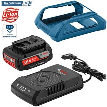 Bateria mod. gba 18 v 2,0 ah mw-b + cargador mod. gal 1830 w professional