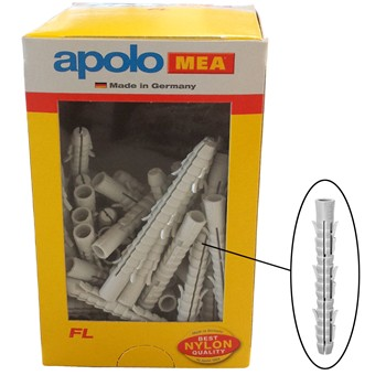 Taco de nylon extralargo mod. fl en caja