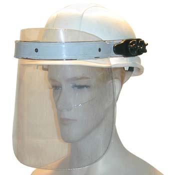 Pantalla de protección con casco mod. 436.