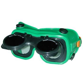 Gafas para soldadura oxiacetilénica y oxicorte mod. 545-a.