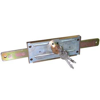 Cerradura para puertas enrollables cvl 11-a