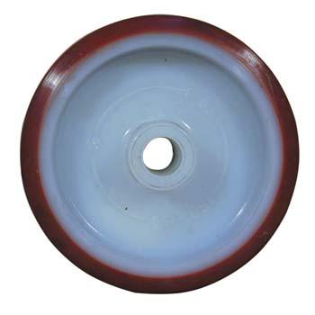 Rueda de poliuretano con núcleo de poliamida