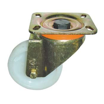 Rueda de poliamida con soporte giratorio pesado