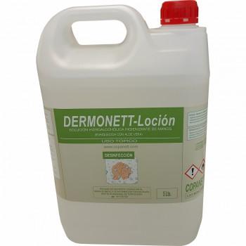 Loción hidroalcohólica dermonett (5 litros)