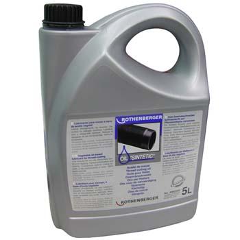 Aceite sintético para roscar a base de aceite vegetal