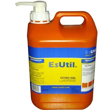Gel concentrado con dosificador para la limpieza y conservación de las manos (citro gel)