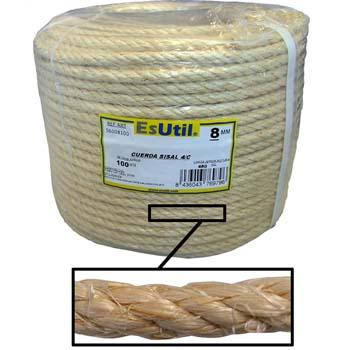 Cuerda de sisal de 4 cabos