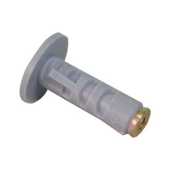 Taco de nylon con cono de expansión metálico