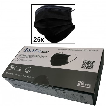 Mascarilla de protección individual (caja 25 unidades)