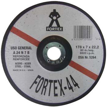 Disco de desbaste a24n7b fortex 44