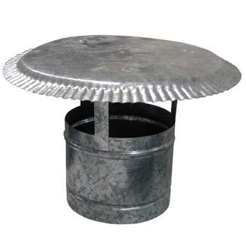 Sombrero sencillo galvanizado