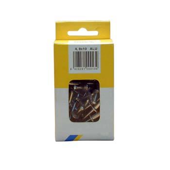 Remache de aluminio estándar gesipa en minipack