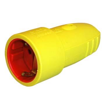 Base de goma amarilla