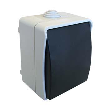Interruptor / conmutador estanco de superficie
