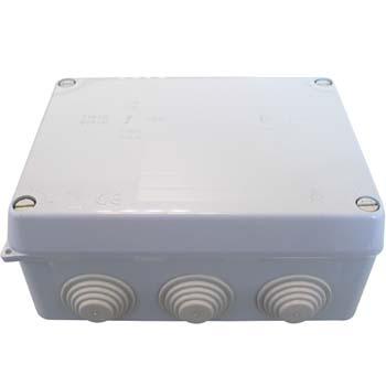 Caja estanca rectangular de conexión