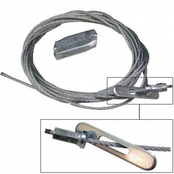 Cable de suspensión con terminal tipo
