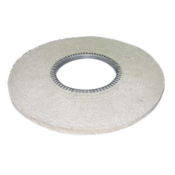 Disco de sisal compacto cosido