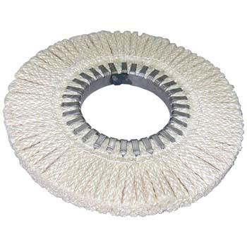 Disco de cordel trenzado de sisal