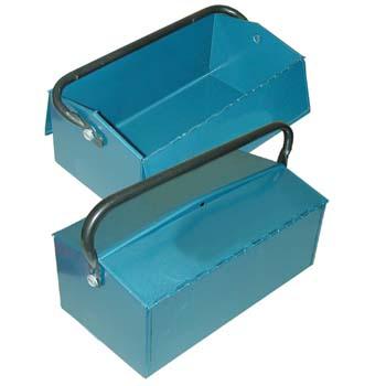 Caja metálica para herramientas (400x215x110 mm)