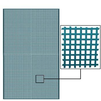 Panel perforado para soportes de herramientas