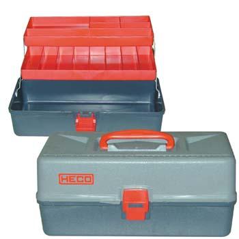 Caja de plástico para herramientas (380x180x165 mm)