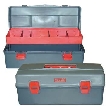 Caja de plástico para herramientas (450x200x185 mm)