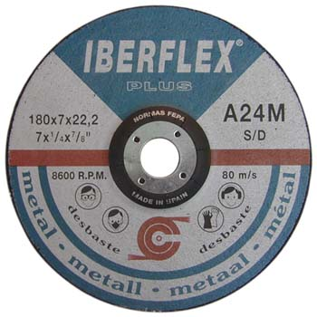Disco de desbaste a24m para hierro
