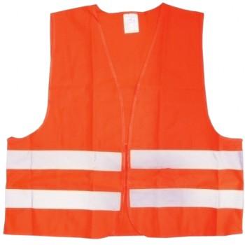 Chaleco naranja reflectante homologado mod. 50654