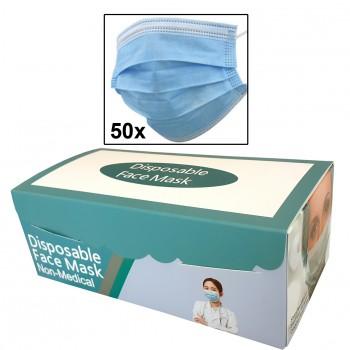 Mascarilla de proteccion individual (caja 50 unidades)