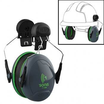 Orejeras mod. sonis™1 acoplables al casco jsp