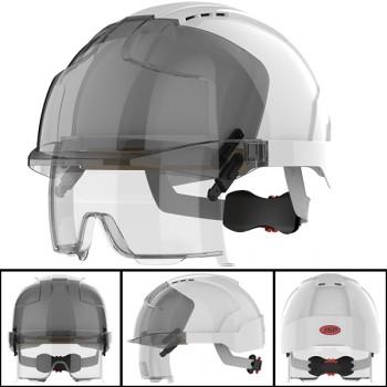 Casco de protección mod. evo® vistalens con gafas integradas