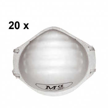 Mascarilla (ffp2) (caja 20 unidades) martcare®-p2 mod. beg120-001-000