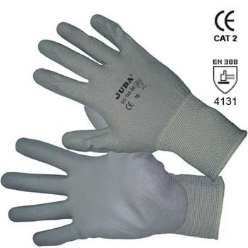 Guante de nylon con recubrimiento de poliuretano ref. gg tke 04